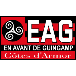 Stickers logo foot en avant de guingamp jpg