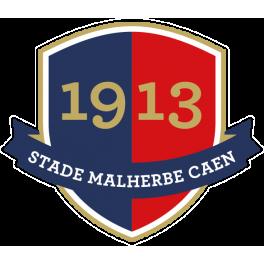 Stickers logo foot stade malherbe caen jpg